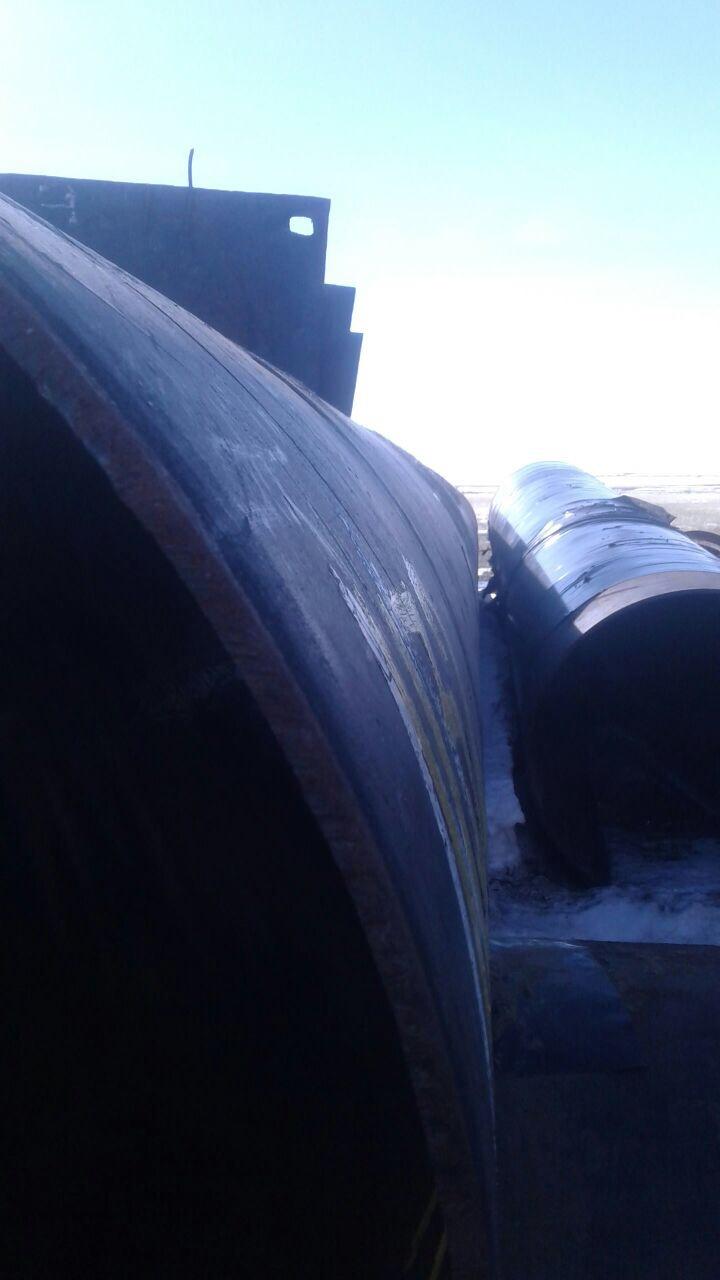 Демонтаж дренажной трубы